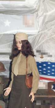 Foto: Sells Roupa e jóia Mulheres - MILITARY FEMALE MANNEQUIN WITHOUT WIG & WITHOUT U - MILITARY FEMALE MANNEQUIN
